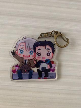 🚚 Yuri On Ice Keychain