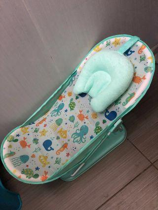 Mothercare Under The Sea Baby Bather - Blue (Foldable)