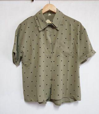 🚚 仙氣韓式襯衫
