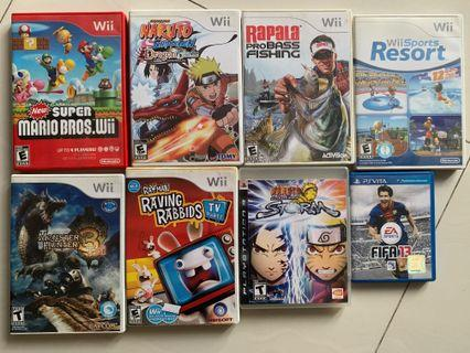 Nintendo Wii Games - Super Mario Bros, etc...