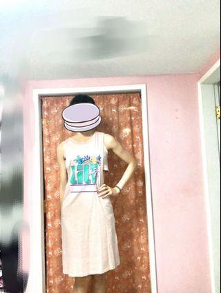 洋裝 露腰