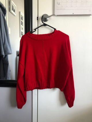 Glassons size 10 red knit