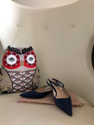 Prada sling back pump 露跟女裝鞋