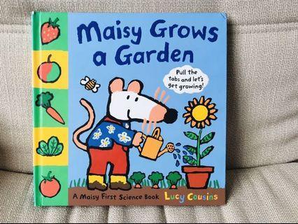 Maisy Grows A Garden hardcover