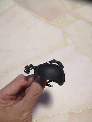1/6 FIGURE Helmet Black