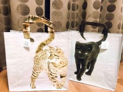 🚚 現貨💕日本境內💕超大超輕防水購物袋