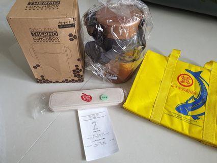 Eu Yan Sang T/L.box NTUC bonus point, cooler bag & cutlery