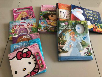 9 pieces high quality children's books