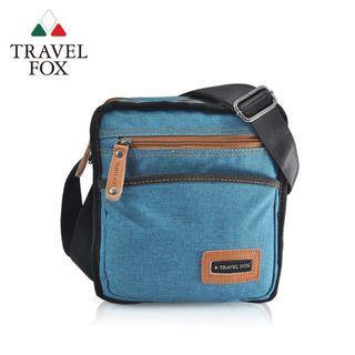 TRAVELFOX旅狐 簡約單寧文側背包