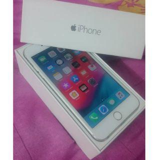 Used Iphone 6 Plus Silver 16GB