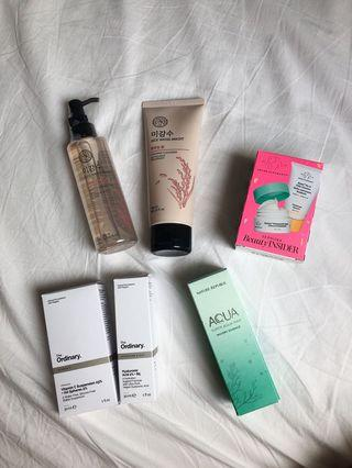 THE FACE SHOP CLEANSING OIL AND FOAM