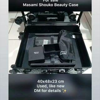 SALE MASAMI SHOUKO MAKEUP CASE BEAUTY CASE ORI