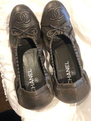 Authentic Chanel ballet flat