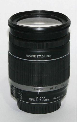 🚚 Canon 18-200mm