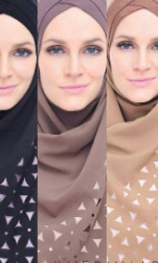 Sugarscarf Very Madison Coklat (Gambar Tengah)