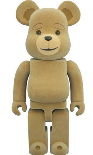「觀塘交收」全新400% Bearbrick 賤熊 Ted 2