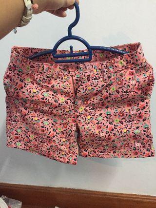 Floral Gap Short pants