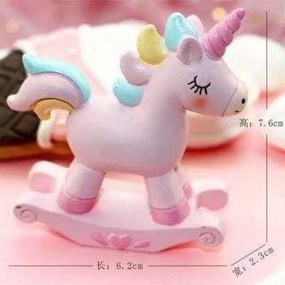 Rocking Unicorn Cake Topper