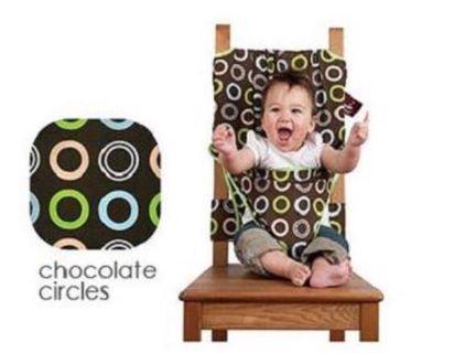 便攜式嬰兒寶寶餐椅安全背帶/椅套/適用各種餐椅