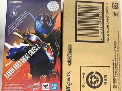 Shf Great Cross Kamen Rider Build 幪面超人 龍我 魂限