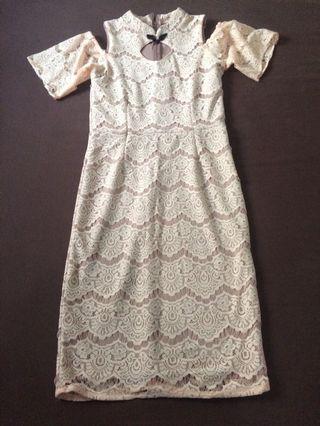 Oriental Body-Fit Dress