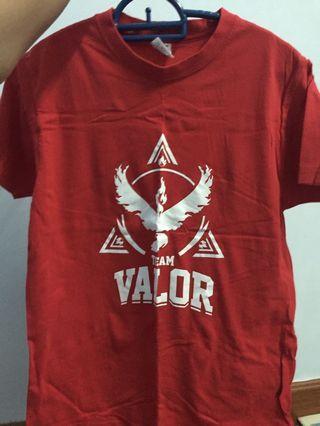 Team Valor shirt