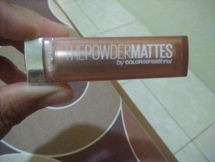 #mauthr Lipstik Maybelline The Powder Matte Touch of Nude