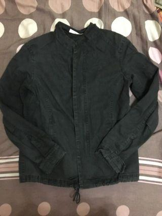外套 黑色 韓版 古著 vintage
