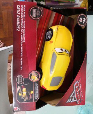 賽車總動員光動感賽車 會說話的麥昆酷姐兒童玩具車模型