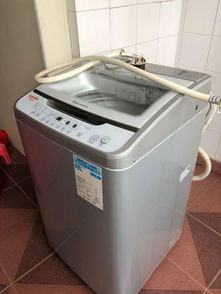 機件正常洗衣機最遲明天取