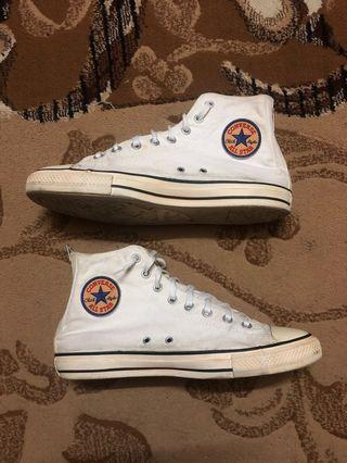 Authentic Preloved Converse High Cut Rare Design Shoes