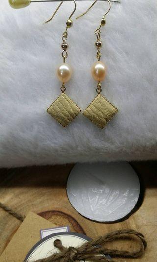 🚚 淡水珍珠純銀耳環