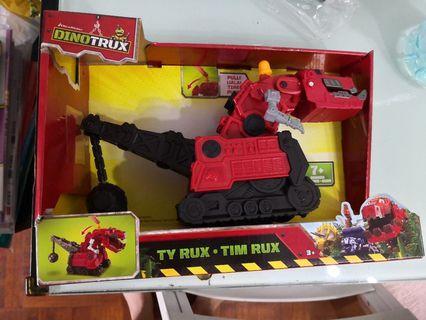 Dinotrux恐龍卡車 Reptool Ty Rux兒童玩具