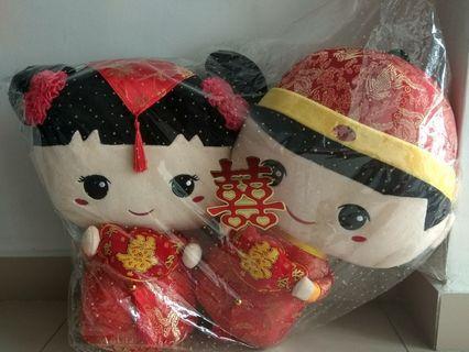 Boneka sangjit import baru (belum pernah dibuka)