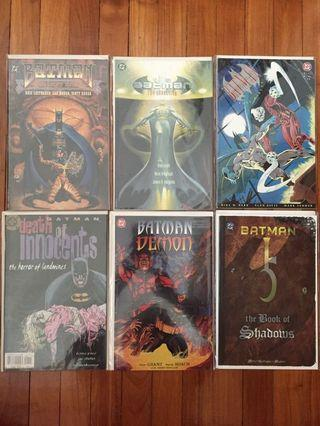 🚚 DC Batman comics (bundle sale)