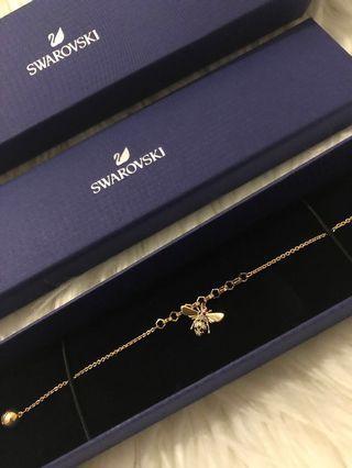 Swarovski Remix Bee Bracelet Size M 17.5cm