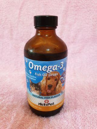 🚚 Fish Oil Drops for Cats or Dogs