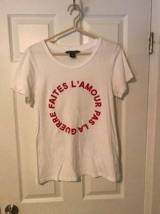 French connection t shirt