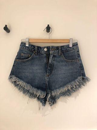 Denim shorts ($5-$8)