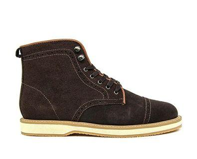 Marco Suede Brown Boots