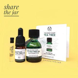 The Body Shop Tea Tree Oil share in bottle