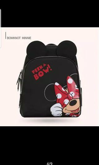 Tas Mickey Mouse tas minnie backpack diaper bag