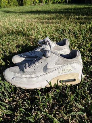 Women's White Nike air Max 90 sneakers