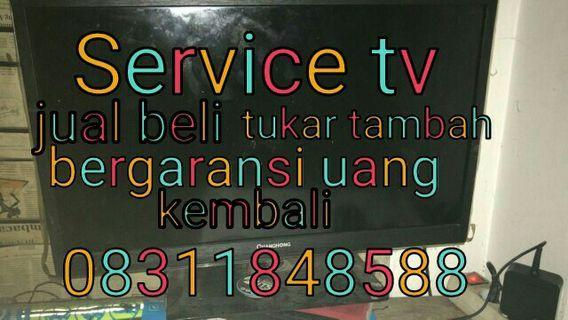 Service tv led lcd plasmajual beli tukar tambah sparepart dll