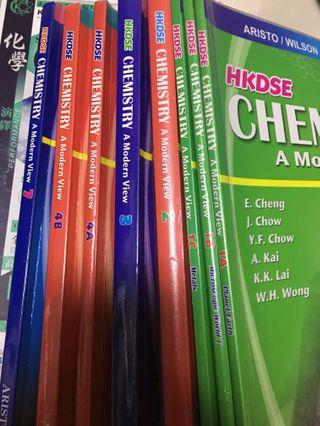 HKDSE Chemistry A Modern View Textbook(1a,1b,1c,2,3,4a,4b,7)