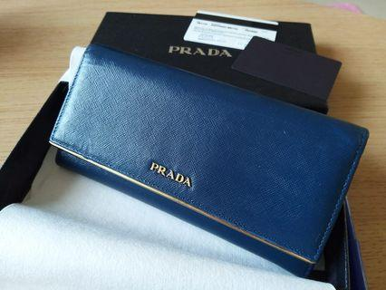 Prada Wallet (Used but in good condition)