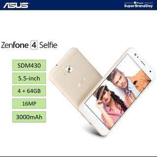 #RayaPhone Asus Zenfone 4 Selfie (4 + 64GB) ZD553KL