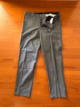 🚚 淺灰 9分西裝褲