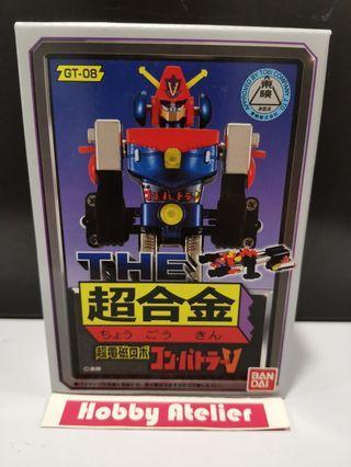 Chogokin GT-08 Combattler V Action Figure