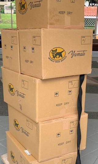 🚚 Cardboard boxes high quality